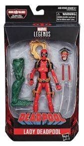 DEADPOOL LEGENDS 15 cm LADY DEADPOOL ACTIONFIGUR