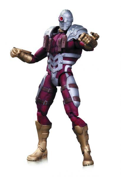 DC COMICS SUPER VILLAINS DEADSHOT ACTIONFIGUR