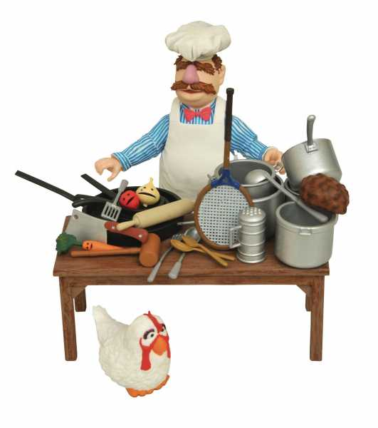MUPPETS SWEDISH CHEF DELUXE ACTIONFIGUR-SET