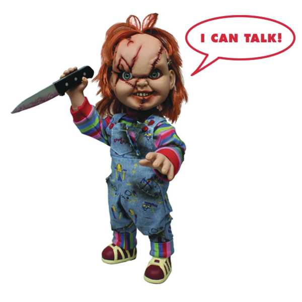 CHILDS PLAY TALKING CHUCKY 37,5 cm MEGA SCALE FIGUR