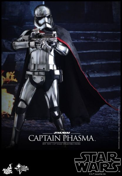 Hot Toys Star Wars The Force Awakens 1/6 Captain Phasma 30 cm Actionfigur