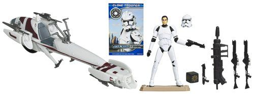 Star Wars Barc Speeder + Clone Trooper Set