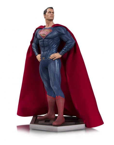 JUSTICE LEAGUE MOVIE SUPERMAN STATUE