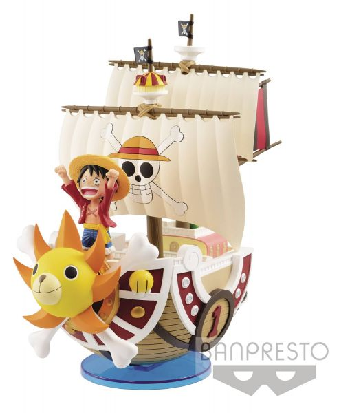 ONE PIECE MEGA WORLD 1000 SUNNY COLLECTABLE FIGUR
