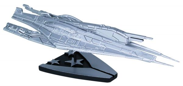 MASS EFFECT ALLIANCE CRUISER SILVER LIMITED SHIP REPLICA
