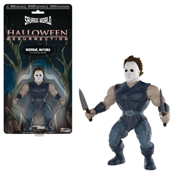 FUNKO SAVAGE WORLD HALLOWEEN MICHAEL MYERS ACTIONFIGUR