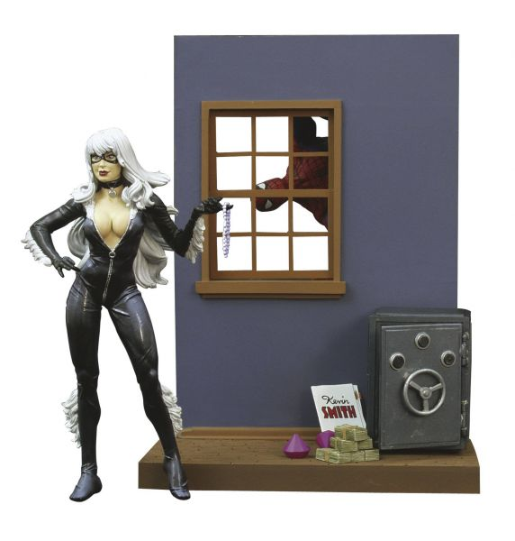 MARVEL SELECT BLACK CAT ACTIONFIGUR