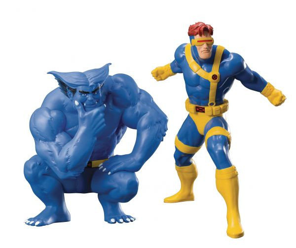 X-MEN 92 CYCLOPS & BEAST 2-PACK ARTFX+ STATUE