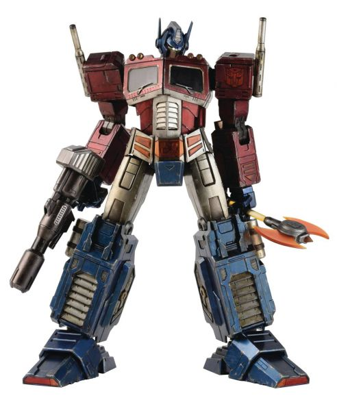 HASBRO X THREEA TRANSFORMERS G1 OPTIMUS PRIME CLASSIC EDITION ACTIONFIGUR