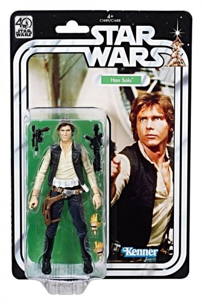 Star Wars The Black Series 40th Anniversary Han Solo 15cm Actionfigur