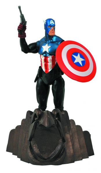 MARVEL SELECT CAPTAIN AMERICA ACTIONFIGUR
