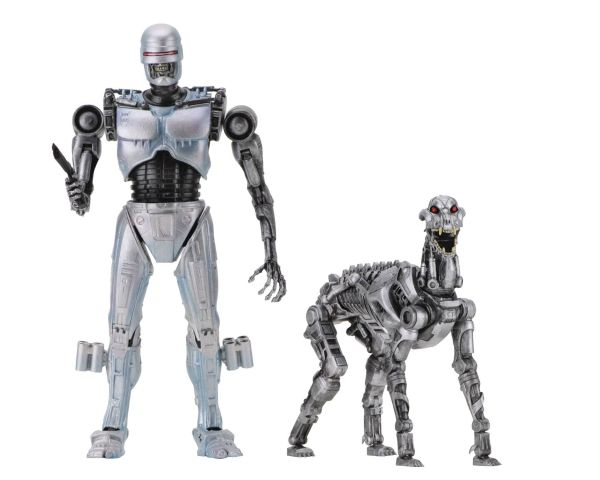 ROBOCOP VS THE TERMINATOR ENDOCOP & TERMINATOR DOG ACTIONFIGUR 2-PACK
