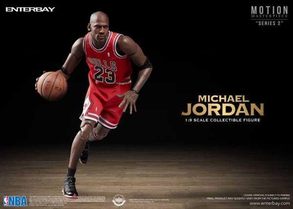 VORBESTELLUNG ! NBA Collection Motion Masterpiece 1/9 Michael Jordan 23 cm Actionfigur