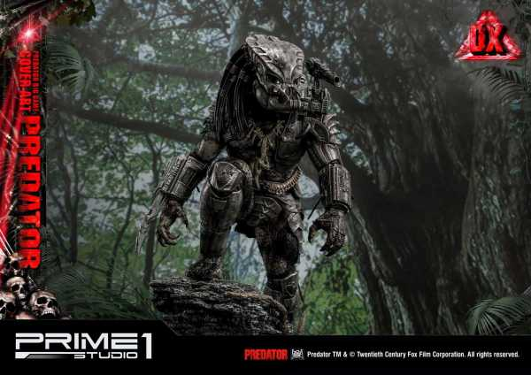VORBESTELLUNG ! Predator Statue Big Game Cover Art Predator Deluxe Version 72 cm