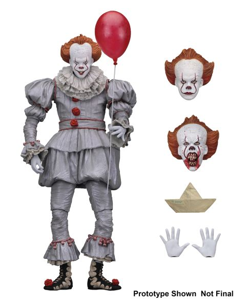 IT 2017 PENNYWISE ULTIMATE 17,5 cm ACTIONFIGUR