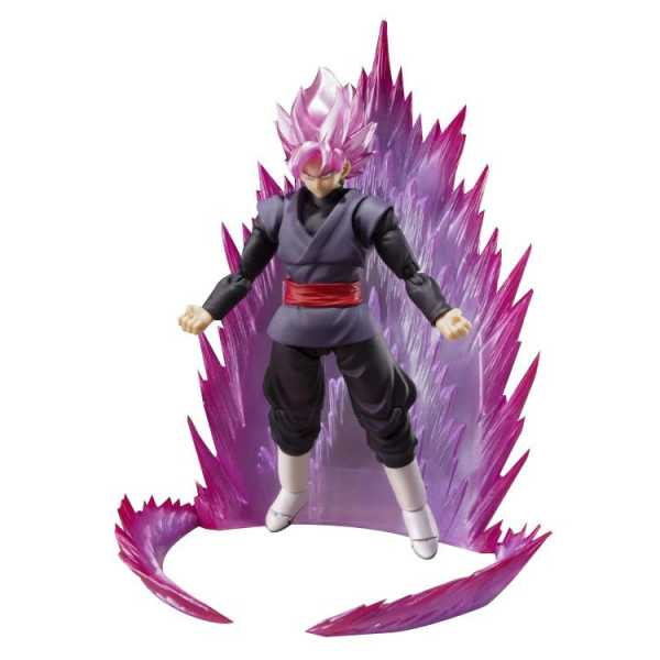 DRAGON BALL SUPER SUPER SAIYAN ROSE GOKU BLACK SH FIGUARTS ACTIONFIGUR SDCC 2019 EXCLUSIVE