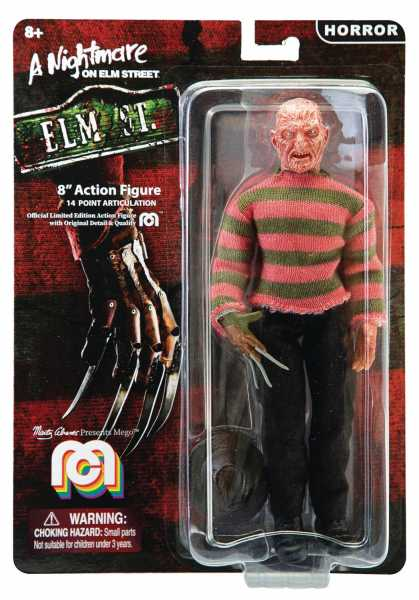 MEGO HORROR WAVE 5 FREDDY KRUEGER 8 INCH ACTIONFIGUR