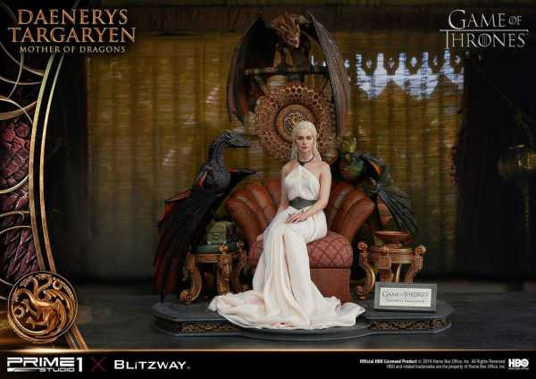 VORBESTELLUNG ! Game of Thrones 1/4 Daenerys Targaryen - Mother of Dragons 60 cm Statue