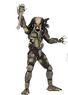 PREDATOR 30TH ANNIVERSARY JUNGLE HUNTER UNMASKED 17,5 cm ACTIONFIGUR