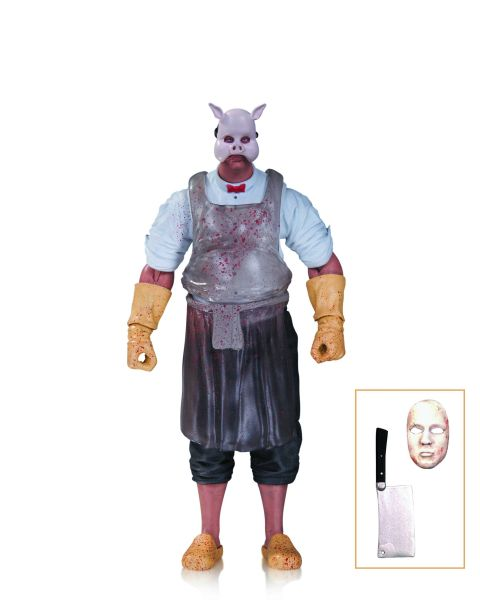 BATMAN ARKHAM KNIGHT PROFESSOR PYG ACTIONFIGUR