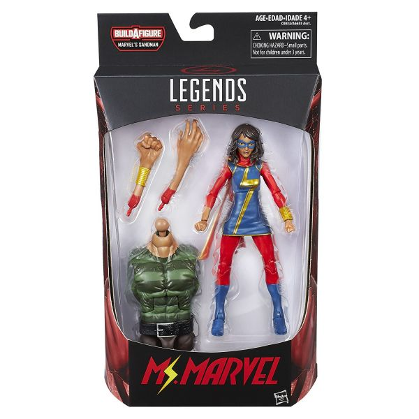 MARVEL LEGENDS SPIDER-MAN: MS. MARVEL 15cm ACTIONFIGUR