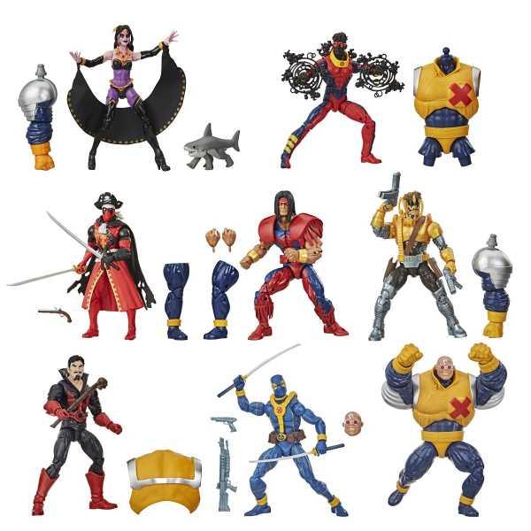 VORBESTELLUNG ! Deadpool Marvel Legends 6 Inch Actionfiguren Wave 3 Komplett-Set