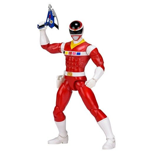 POWER RANGERS LEGACY MIGHTY MORPHIN RED RANGER 15cm ACTIONFIGUR