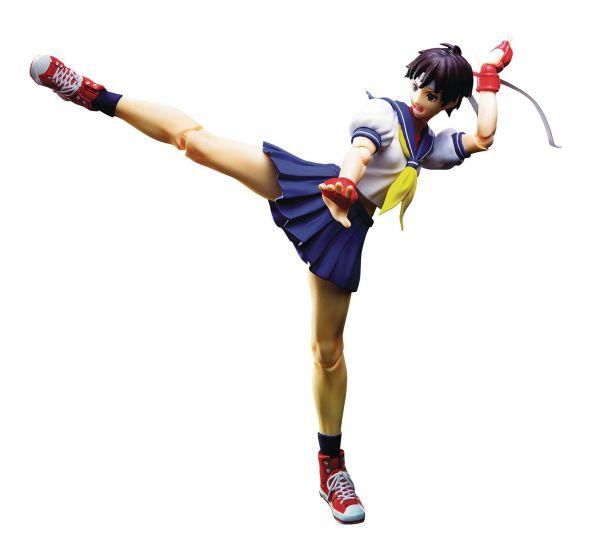 STREET FIGHTER SAKURA KASUGANO S.H.FIGUARTS ACTIONFIGUR