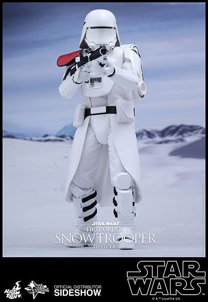 Hot Toys Star Wars The Force Awakens 1/6 First Order Snowtrooper Officer 30 cm Actionfigur