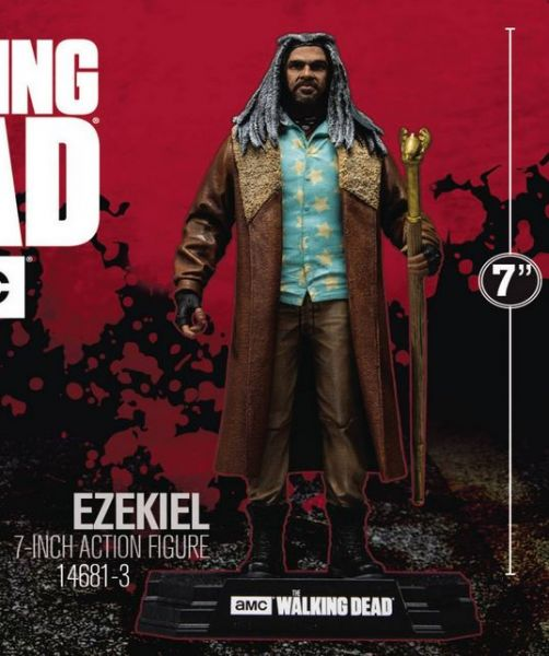 WALKING DEAD TV 2018 SERIES 1 EZEKIEL ACTIONFIGUR