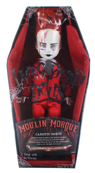LIVING DEAD DOLLS SERIES 33 MOULIN MORGUE: CAROTTE MORTS PUPPE