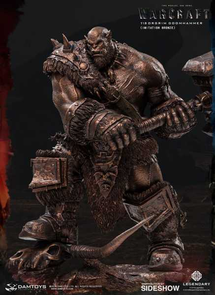 VORBESTELLUNG ! Warcraft: The Beginning Statue 1/9 Orgrim Imitation Bronze Version 27 cm