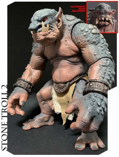 VORBESTELLUNG ! Mythic Legions All-Stars Deluxe Stone Troll 2 30 cm Actionfigur