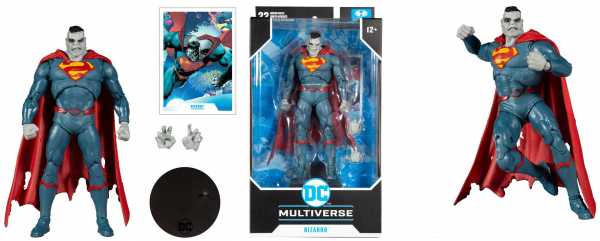DC Multiverse Actionfigur Superman Bizarro (DC Rebirth) 18 cm Actionfigur
