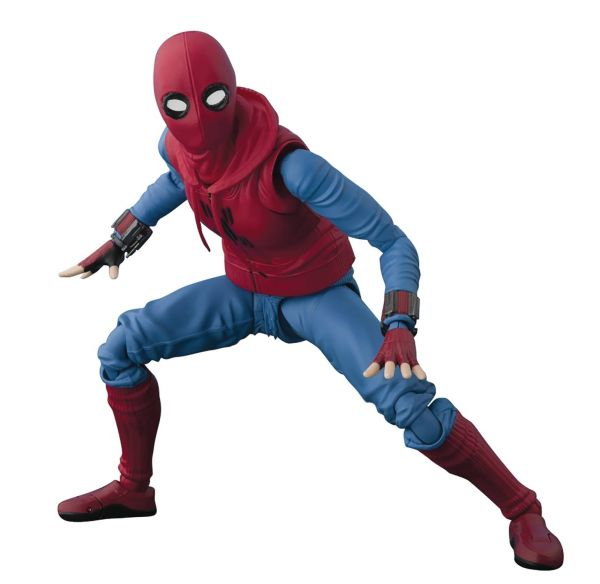 SPIDER-MAN HOMECOMING S.H.FIGUARTS ACTIONFIGUR HOME MADE SUIT VERSION