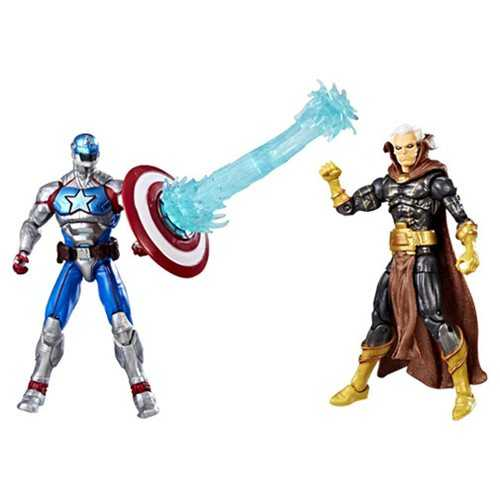 MARVEL GAMERVERSE 10 cm CIVIL WARRIOR VS THE COLLECTOR ACTIONFIGUR 2-PACK