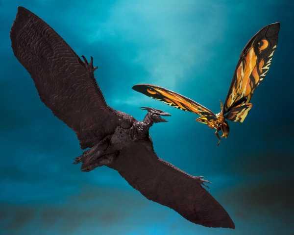 Godzilla: King of the Monsters 2019 S.H. MonsterArts Actionfiguren Doppelpack Mothra & Rodan