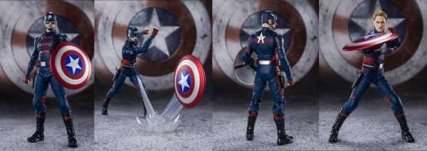 VORBESTELLUNG ! Falcon & Winter Soldier S.H. Figuarts Captain America (John F. Walker) Actionfigur