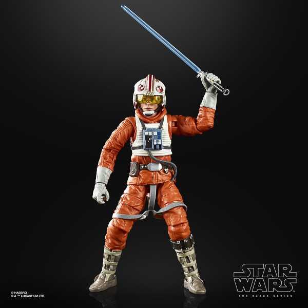 Star Wars Black Series E V 40th Anniversary Luke Hoth Pilot 6 Inch Actionfigur