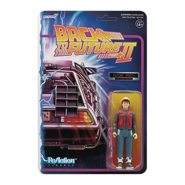 VORBESTELLUNG ! BACK TO THE FUTURE 2 MARTY MCFLY REACTION ACTIONFIGUR