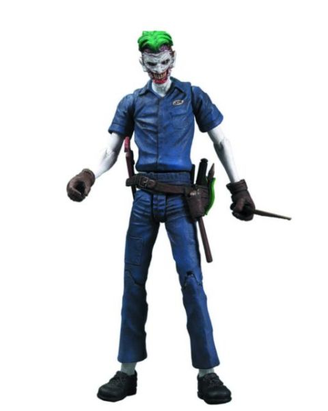 DC DIRECT NEW 52 SUPER VILLAINS JOKER ACTIONFIGUR