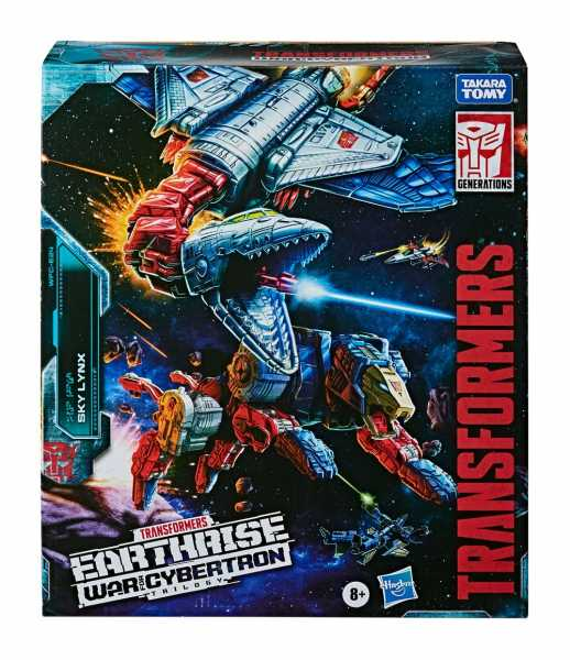 TRANSFORMERS GENERATIONS WAR FOR CYBERTRON EARTHRISE COMMANDER SKY LYNX ACTIONFIGUR