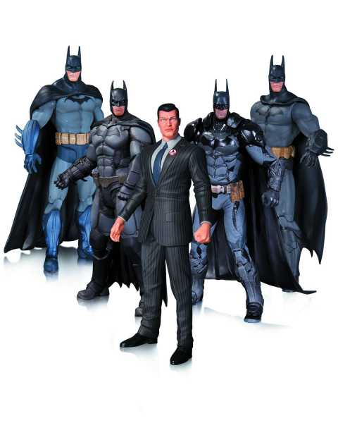 ARKHAM BATMAN ACTIONFIGUREN 5-PACK