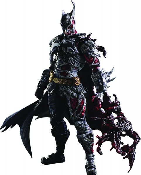 DC COMICS VARIANT PLAY ARTS KAI BATMAN ROGUES GALLERY TWO FACE ACTIONFIGUR