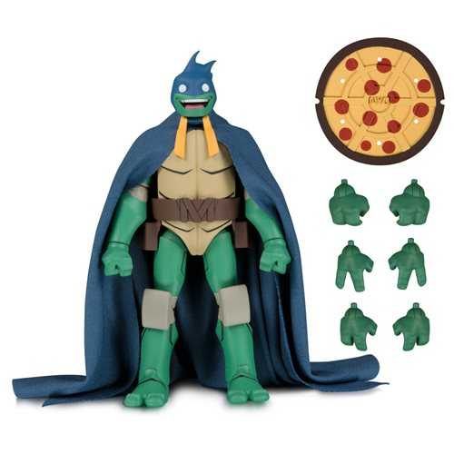 TEENAGE MUTANT NINJA TURTLES MICHELANGELO AS BATMAN ACTIONFIGUR SDCC 2019 EXCLUSIVE