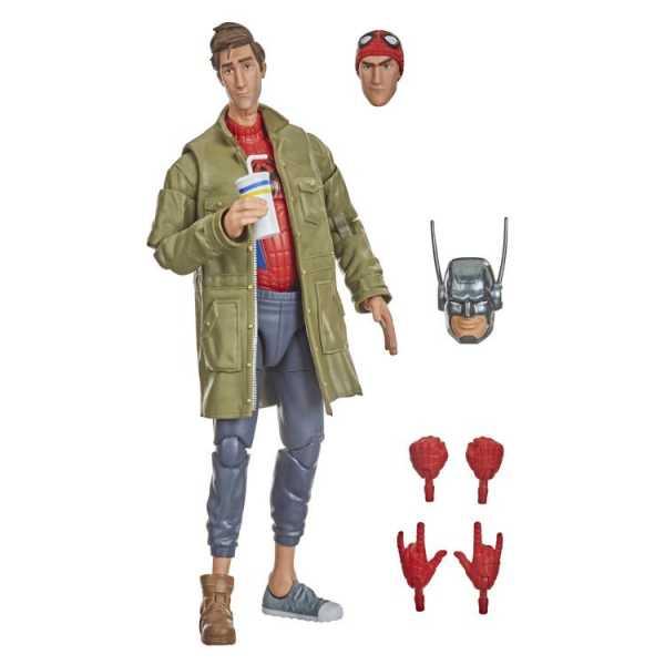 Spider-Man Marvel Legends Peter B. Parker 6 Inch Actionfigur