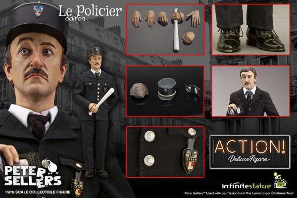 VORBESTELLUNG ! PETER SELLERS PINK PANTHER POLICIER 1/6 ACTIONFIGUR