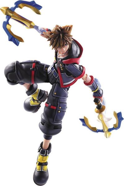 KINGDOM HEARTS III SORA BRING ARTS ACTIONFIGUR