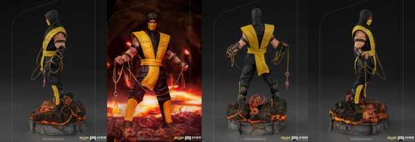VORBESTELLUNG ! Mortal Kombat 1/10 Scorpion 22 cm Art Scale Statue