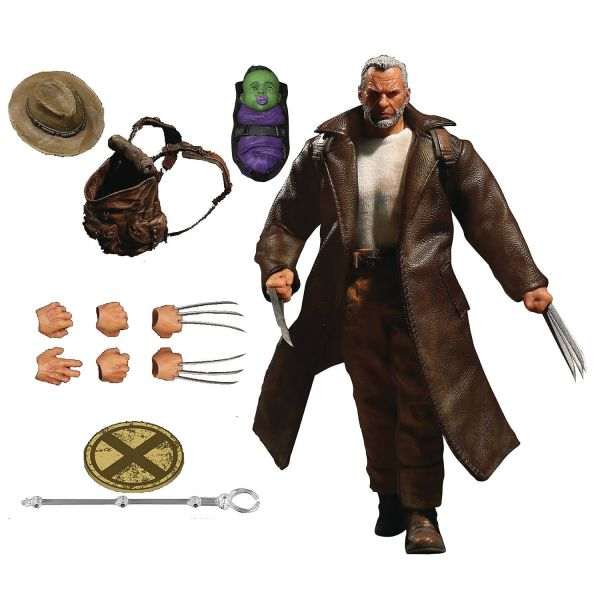 ONE-12 COLLECTIVE MARVEL OLD MAN LOGAN ACTIONFIGUR